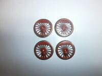 4 Fleischmann 514281 Lokräder Treibräder 20/22mm für BR 39 Spur H0