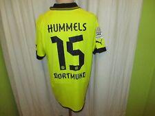 """Borussia Dortmund Puma Heim Trikot 2012/13 """"EVONIK"""" + Nr.15 Hummels Gr.XL TOP"""