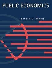Public Economics. Myles