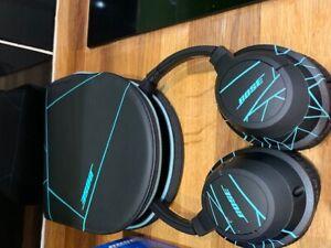 Bose SoundTrue AE Headband Headphones - Fracture Black & Green