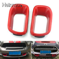 Car Front Bumper Grille Air Inlet Cover Trim For Mini Cooper F55 F56 Hatchback