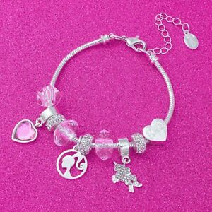 Barbie® Beaded Unicorn Charm Bracelet