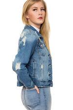 Button Cotton Regular Size Blazer for Women