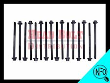 Fit 98-11 Chrysler 3.2/3.5/4.0L V6 Cylinder Head Bolt Set SOHC 24V engine motor