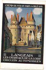 CPA  Langeais - Les Chateaux de la Loire Circuits Automobiles   (229607)