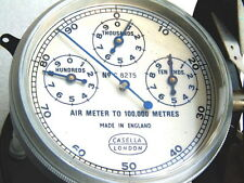 VINTAGE CASELLA LONDON CHRONOMETRIC WIND SPEED SHIPS YACHT ANEMOMETER AIR METER