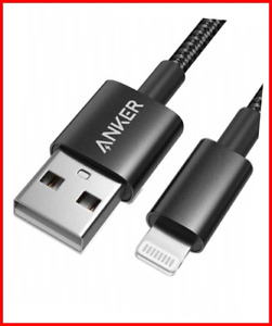 Anker iPhone Charger Cable - Apple MFi Certified 6ft/1.8m Lightning Cable Nylon