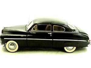 Danbury Mint 1949 Mercury Club Coupe Black 1:24 Die Cast with Papers