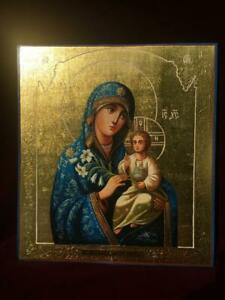 Icon of the Mother of God Unfading Color