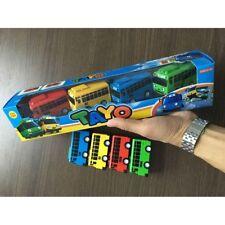 Hot  4 pcs Cars Toy The Little Bus TAYO Friends Mini Set Tayo Rogi Gani Rani