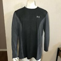 Under Armour Running Shirt Threadborne Seamless Long Sleeve Gray Size XXL