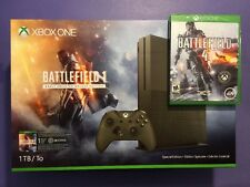 XBOX ONE S 1TB Console [ Battlefield 1 Special Edition Military Green ] NEW