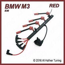 BMW M3 e30 S14 88-91 EVO Red  plug wire set (red) 12 12 1 316 688 / 12121311735