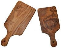 la tabla de cortar madera olivo olivenholzbrett bandeja para Hora Del Bocadillo