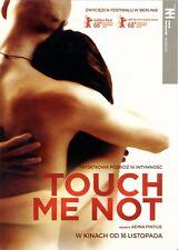 Tómas Lemarqu Adina Pintilie - Touch Me Not - Polish promo FLYER