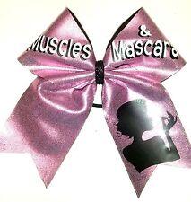 Muscles & Mascara  Cheer Hair Bow Can customize!.