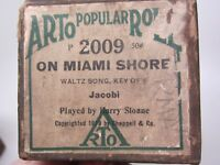 "Player Piano Standard ARTO 2009 ""On"" Miami Shore"",88"