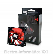 Ventilador Para Pc O Incubadoras Nox Nxf80 80 Mm Silencioso Envio 24-72 Horas