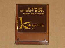 K-Razy Shoot-Out - Atari 400/800/XL/XE - K*Byte Version - FREE SHIPPING!