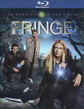 Fringe: The Complete Second Season (Blu-ray Disc, 2010, 4-Disc Set)