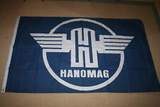 FAHNE/FLAGGE Trecker Traktor Hanomag Logo Schwinge   150 x 250 XXL Ausverkauf
