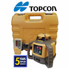 Topcon RL-H5A Auto Laser Level- Alkaline Battery w/ case, rod clamp & detector