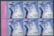 [328704] Aland 2012 good block of 6 stamps very fine MNH