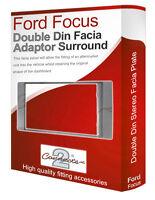 Ford Focus stereo radio Facia Fascia adapter panel plate trim CD surround