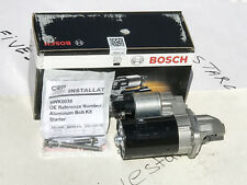 BRAND NEW BOSCH STARTER Motor With Bolt kit OEm for BMW 2006+UP CHECK FITMENT