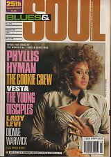 Phyllis Hyman Blues & Soul 1991   Lamont Dozier  Dionne Warwick  The Cookie Crew