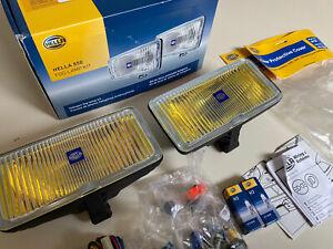 Hella 005700881 550 Halogen Amber Fog Lamp Kit 12V Brand New