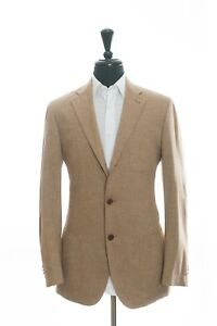 Cantarelli Brown Cotton Absolute Light Jacket 40R 8225