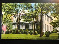 Vintage Postcard>1930-1945>Home of First Garden Club of America>Athens>Georgia