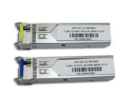 For TP-Link, TL-SM321A/TL-SM321B 1000Base-BX WDM 1550nm/1310nm 10km Pair