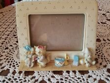 VINTAGE BURNES of BOSTON CHILD BABY NURSERY 4 x 6  STANDING PHOTO PICTURE FRAME