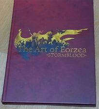 Final Fantasy 14 The Art of Eorzea STROMBLOOD HardCover Book Design & Visual Art
