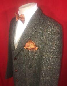 Dunn & Co. Mens Vintage Harris Tweed Blazer Jacket UK 42 Long