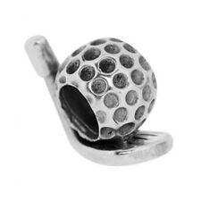 Watsup Silver Bead für Männer Silber Charms MKB-011 Golf Schläger Ball Männer
