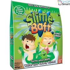 SLIME BAFF GUNKY GREEN 2 BATH PACK SLIMY GOO GELLI JELLY KIDS CHILDREN NEW