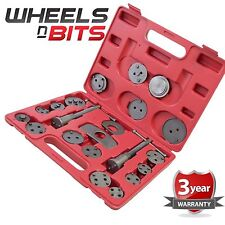 Universal 21pc Disc Brake Caliper Piston Rewind Tool Kit Set Auto Wind Back Car