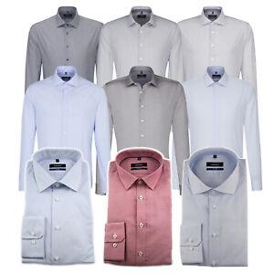 Seidensticker Herren Langarm Business Hemd Herrenhemd Tailored Kent Divers OVP 2