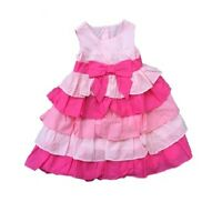 Brand NEW - Little Girls Pink Ruffle Dress w/ Bow by Gymboree - Choose Size