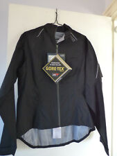 NEW WOMENS GORE-TEX ACTIVE SHELL WATERPROOF CYCLING JACKET Size 42 / XL RRP £199