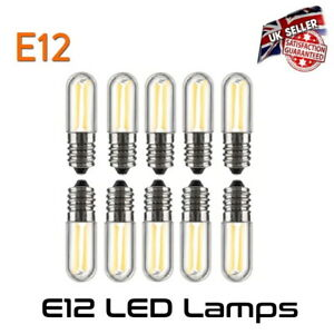 LED E12 Chandelier Lamp Bulb 2 Watt Equivalent to 15 Watt Dimmable *UK Seller*