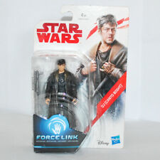 """STAR WARS Force Link - DJ (CANTO BIGHT) 3.75"""" Action Figure, New, Hasbro 2017"""
