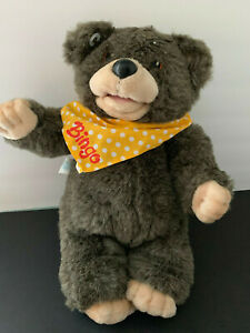 "HASBRO SOFTIES BINGO BEAR  """"NON-WORKING"""""