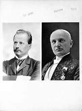 Gustaf de Laval Sweden Auguste Rateau Inventor Steam Turbine ILLUSTRATION 1950