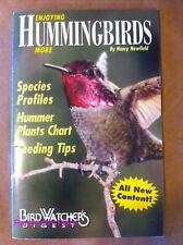 Enjoying Hummingbirds More : Bird Watcher's Digest Bird watching