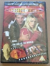 Doctor Who Rose + The End Of The World S1 Ep1+2 UK Dvd Christopher Eccleston