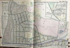 1916 Montgomery Co. Pa, Abington, Noble Station, Weldon, Glenside Copy Atlas Map